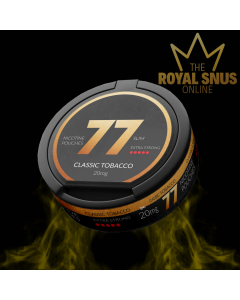 77 Classic Tobacco Strong, 77 كيس نيكوتين