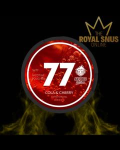 77 Cola & Cherry Snubie Edition, 77 كيس نيكوتين