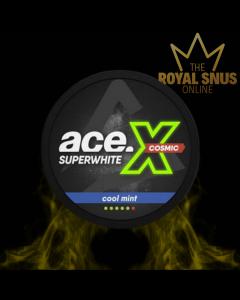 Ace X Super White Cosmic Cool Mint, أكياس النيكوتين آيس