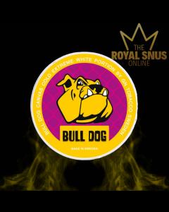 Bull Dog Canvas Cold Extreme White Portion, أكياس النيكوتين BULL DOG