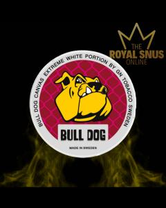 Bull Dog Canvas Extreme White Portion, أكياس النيكوتين BULL DOG