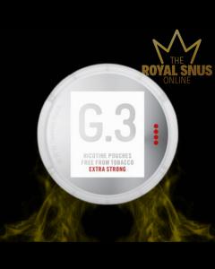 G.3 Nicotine Pouches Extra Strong, G.3 أكياس النيكوتين