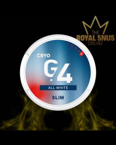 G.4 CRYO Slim All White