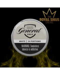 General White Portion Snus