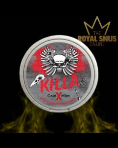 KILLA X Cold Mint Extra Strong Slim All White, أكياس النيكوتين KILLA