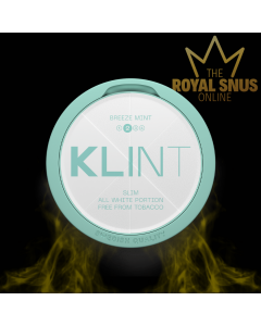KLINT Breeze Mint Slim All White, أكياس النيكوتين KLINT