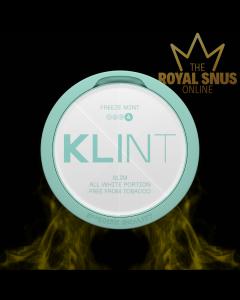 KLINT Freeze Mint Extra Strong Slim All White, أكياس النيكوتين KLINT