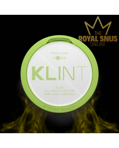 KLINT Fresh Lime Slim All White, أكياس النيكوتين KLINT
