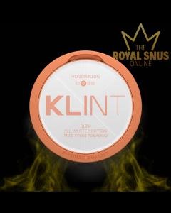 KLINT Honeymelon Slim All White, أكياس النيكوتين KLINT