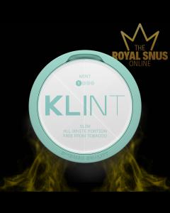 KLINT Mint Slim All White, أكياس النيكوتين KLINT