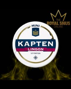 Kapten Lingon Mini White Portion