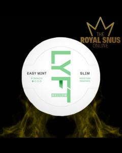 LYFT Mellow Easy Mint Slim All White, أكياس النيكوتين lyft