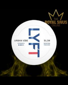 Lyft Urban Vibe Slim Strong, أكياس النيكوتين lyft