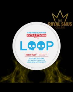 Loop Habanero Mint Extra Strong, حلقة أكياس النيكوتين
