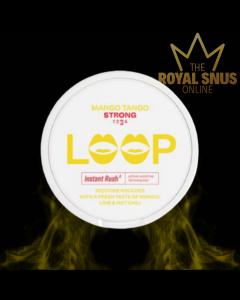 Loop Mango Tango Strong, حلقة أكياس النيكوتين