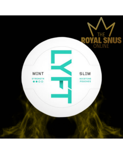 Lyft Mint Slim All White, أكياس النيكوتين lyft