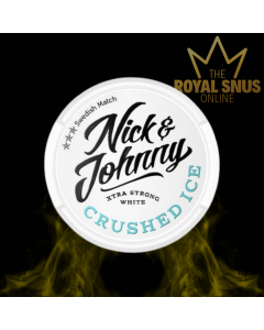 Nick and Johnny Crushed Ice White