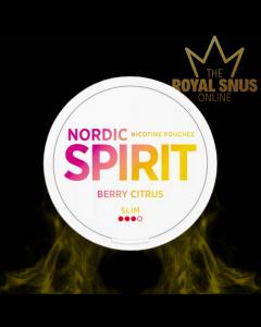 Nordic Spirit Berry Citrus Slim All White, أكياس النيكوتين NORDIC SPIRIT
