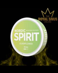 Nordic Spirit Elderflower Mini, أكياس النيكوتين NORDIC SPIRIT