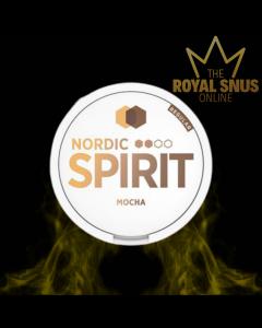 Nordic Spirit Mocha Slim All White, أكياس النيكوتين نورديك سبيريت