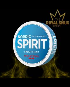 Nordic Spirit Smooth Mint Mini Strong, أكياس النيكوتين NORDIC SPIRIT