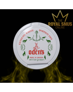 Odens Pure Wintergreen Extreme White Dry