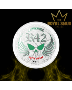 R42 Green Mint White Super Strong