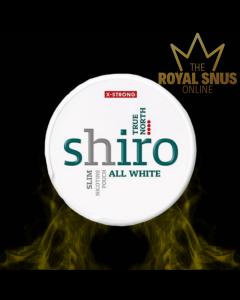 Shiro True North Slim All White, أكياس النيكوتين SHIRO