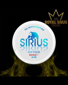 Sirius Ice Cold Slim All White, أكياس النيكوتين سيريوس