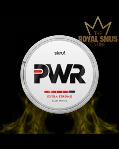Skruf PWR Extra Strong Slim White