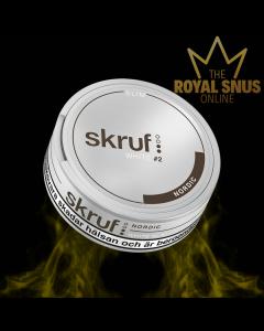 Skruf Slim Nordic White Portion