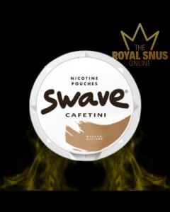 Swave Cafetini Slim All White, أكياس النيكوتين Swave