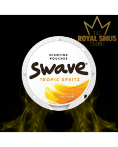 Swave Tropic Spritz Slim All White, أكياس النيكوتين SWAVE