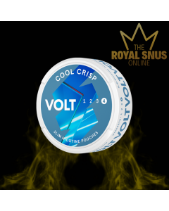 VOLT Cool Crisp Extra Strong Slim All White, أكياس النيكوتين VOLT
