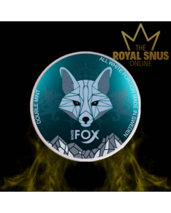 WHITE FOX DOUBLE MINT SLIM, أكياس النيكوتين وايت فوكس