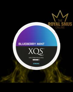 XQS Blueberry Mint Strong, أكياس النيكوتين XQS