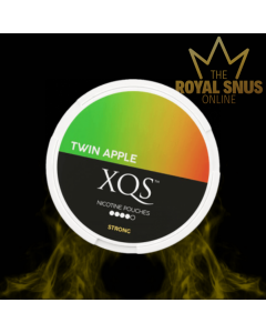 XQS Twin Apple Strong, أكياس النيكوتين XQS