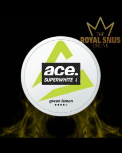 Ace Super White Green Lemon Slim All White ,أكياس النيكوتين إيس
