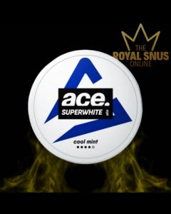 Ace Super White Cool Mint Slim All White, أكياس النيكوتين إيس