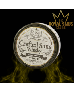 Conny Andersson Crafted Snus Whisky White