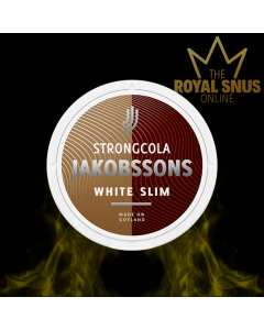 Jakobsson's Strong Cola Slim White Portion