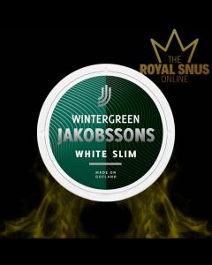 Jakobsson's Wintergreen Slim White Portion