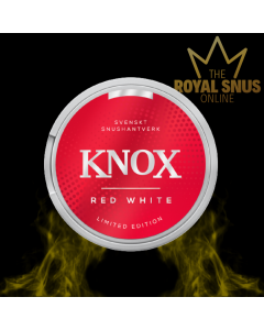 Knox Red White Portion Limited Edition