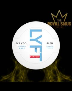 Lyft Ice Cool Mint Strong Slim All White, أكياس النيكوتين lyft, lyft ice بارد النيكوتين أكياس النيكوتين قوية
