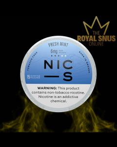 NIC-S Fresh Mint 6mg