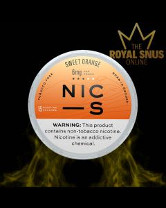 NIC-S Sweet Orange 6mg
