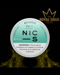 Buy NIC-S Wintergreen 9mg