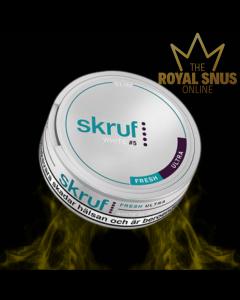 Skruf Slim Fresh Ultra Strong White