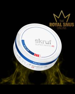 Skruf Super White Slim Polar #3, أكياس النيكوتين SKRUF