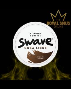 Swave Cuba Libre Slim All White, أكياس النيكوتين SWAVE